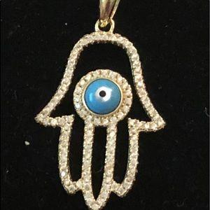 Brand new hamsa pendant